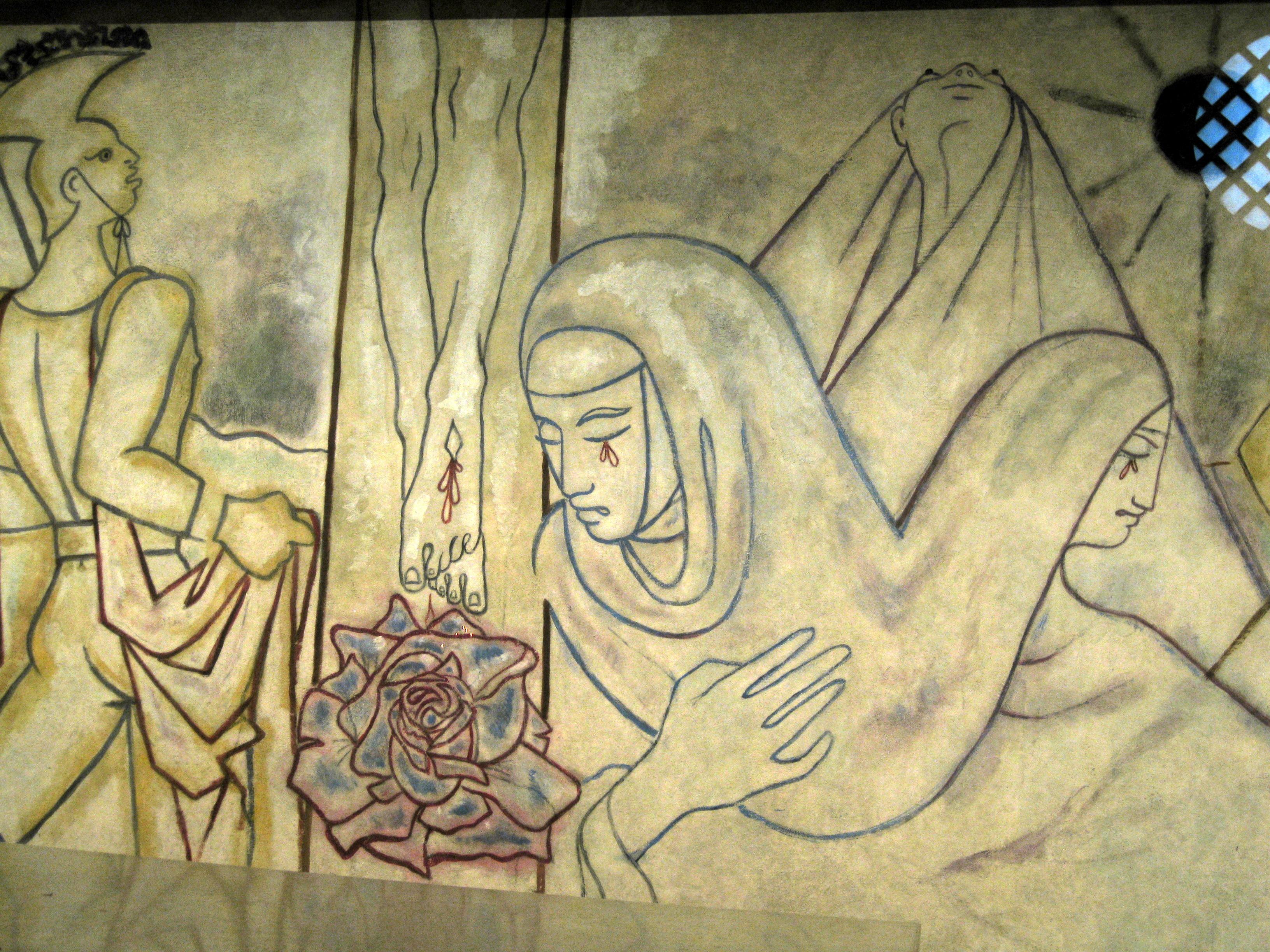 The Art of Notre Dame de France, London | The Jesus Question