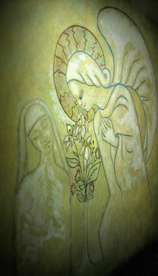 Annunciation by Jean Cocteau