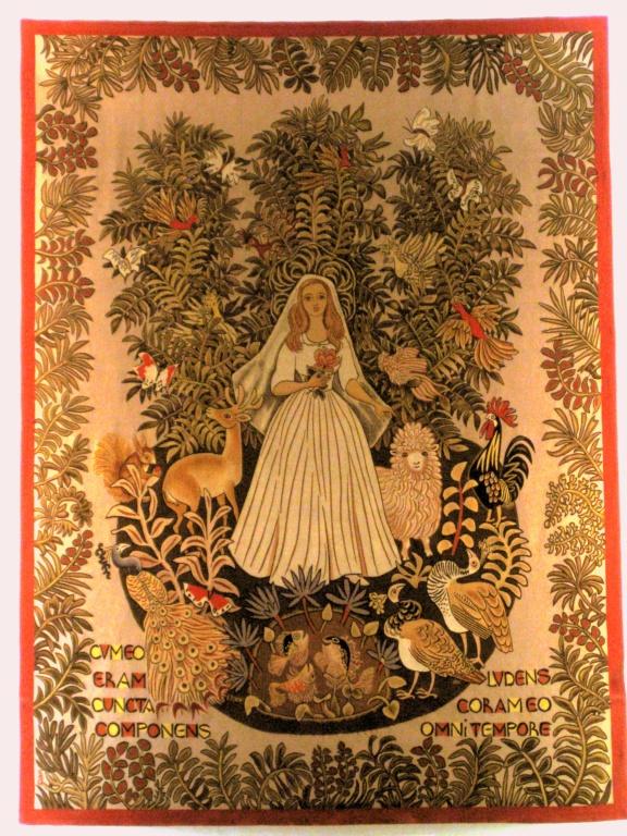 Dom Robert tapestry, Notre Dame de France