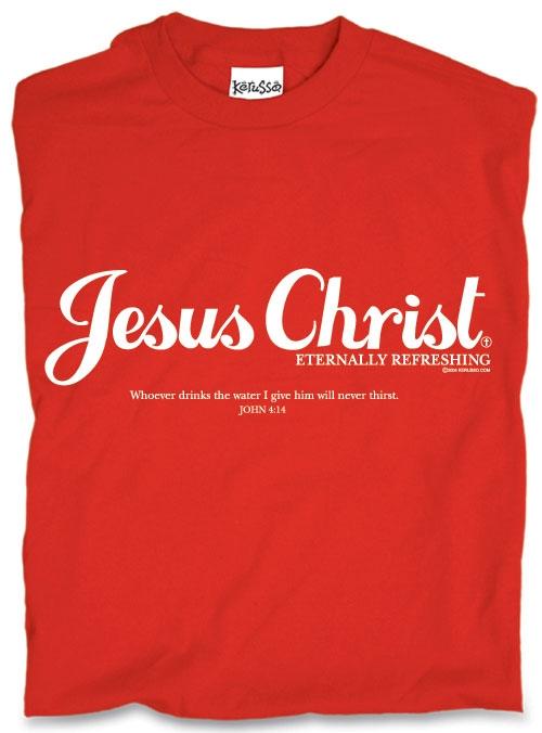 Jesus Coca-Cola shirt
