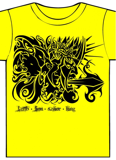 Tribal Jesus T-shirt