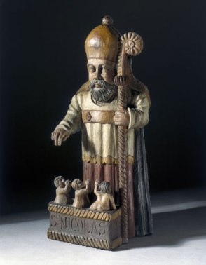 Statue of St. Nicholas, France, 17th century.