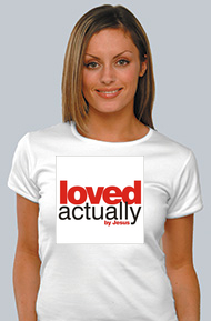 Loved actually by Jesus