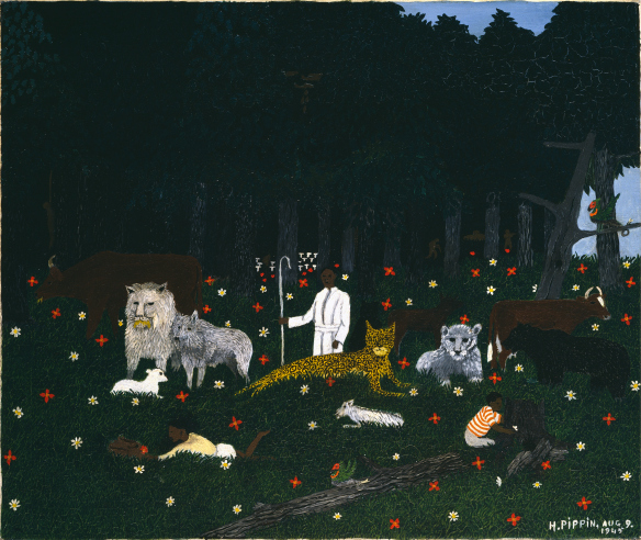 Horace Pippin, Holy Mountain III, 1945. Hirshhorn Museum and Sculpture Garden, Washington, DC.