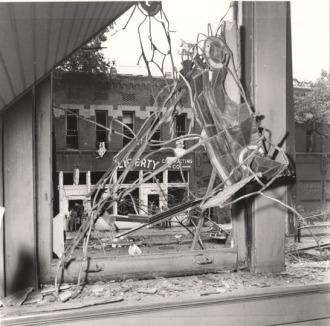 Birmingham bomb damage