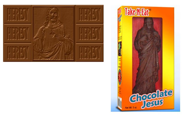Chocolate Jesus candies