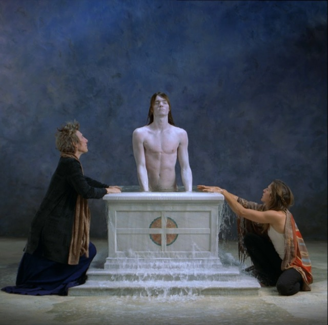Bill Viola Emergence still