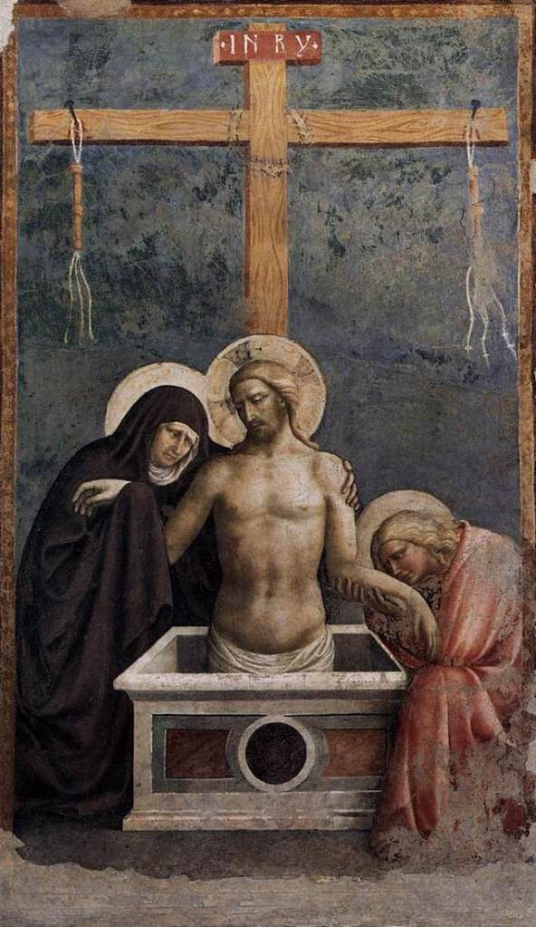 Masolino passion painting