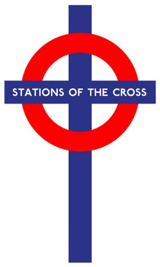 Stations of the Cross subway exhibit