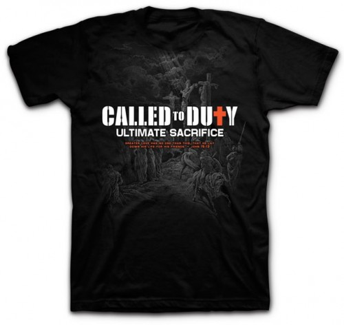 T-shirt_Called to Duty