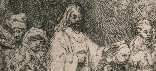 Rembrandt_Raising of Lazarus (detail)
