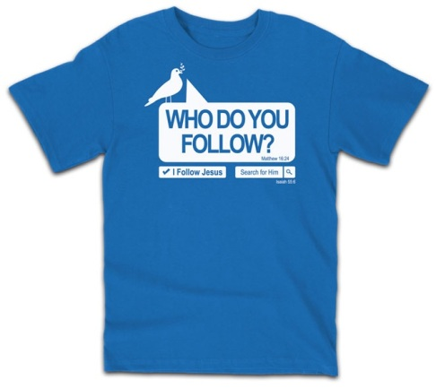 Who do you follow?