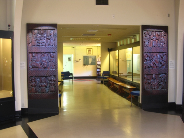 Doors at SMA African Art Museum