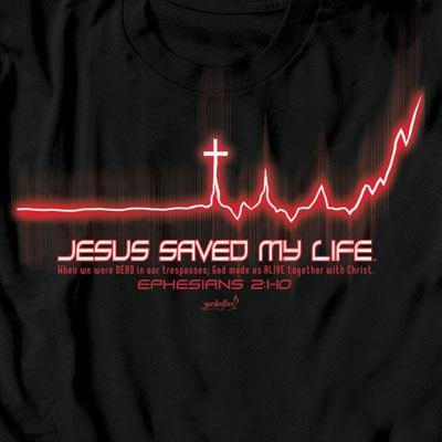 Jesus saved my life