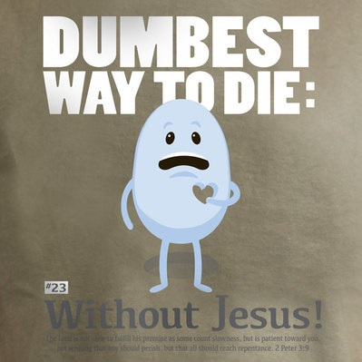 Don't die without Jesus