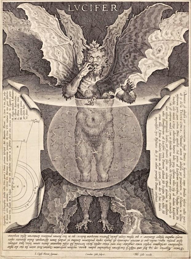 Satan engraving