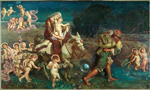 Flight to Egypt, with the Slaughtered Innocents