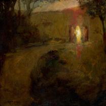 J. Kirk Richards, The Road to Emmaus, 2011. Oil on panel. Source: http://art.jkirkrichards.com/viewer/?item=RoadtoEmmaus278179776