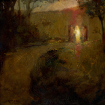 J. Kirk Richards, The Road to Emmaus, 2011. Oil on panel. Source: http://art.jkirkrichards.com/viewer/?item=RoadtoEmmaus278179776