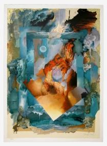 Shraga Weil, Pillar of Fire, 1991. Serigraph, 107 x 76 cm (42 x 30 in.). Source: https://www.safrai.com/details_Weil_s-255%20Pillar%20of%20Fire_451.html