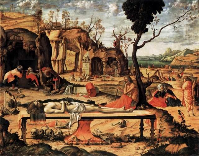 Carpaccio's Dead Christ