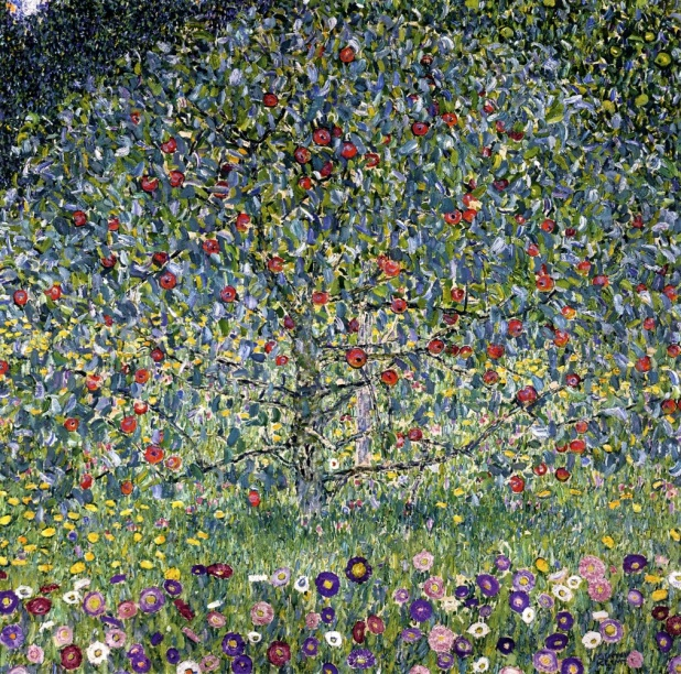 Apple tree by Klimt