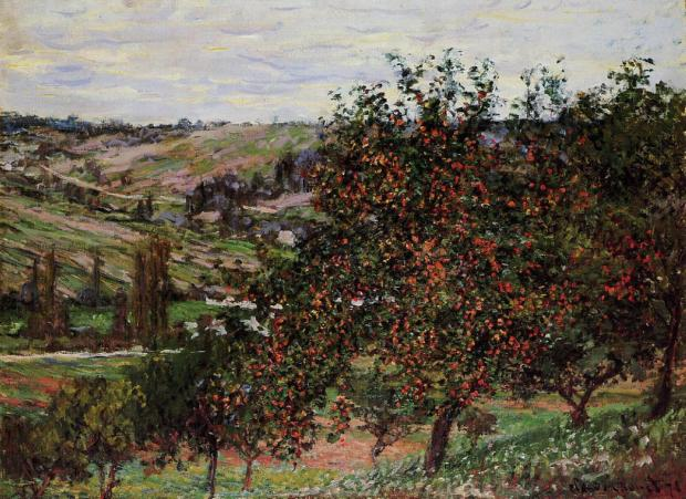 Apple tree by Monet