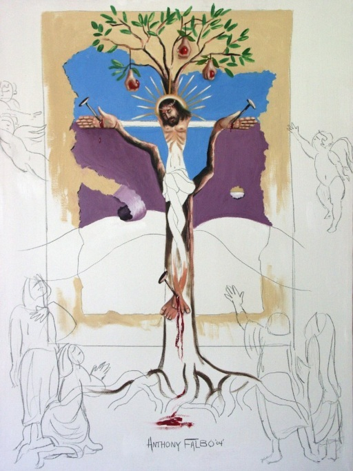 Crucifixion by Anthony Falbo