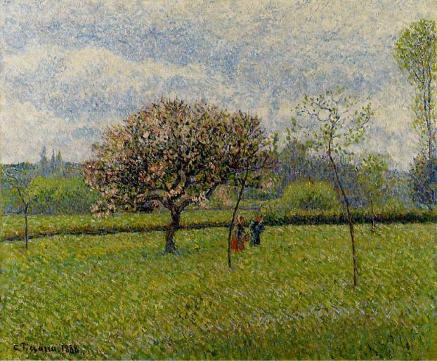 Apple tree by Pissarro