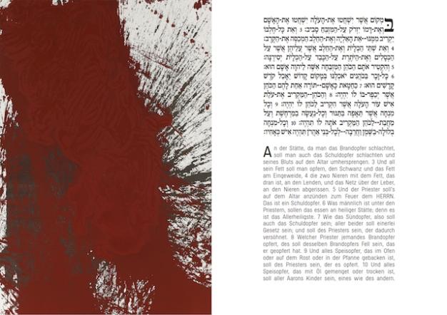 Leviticus by Hermann Nitsch