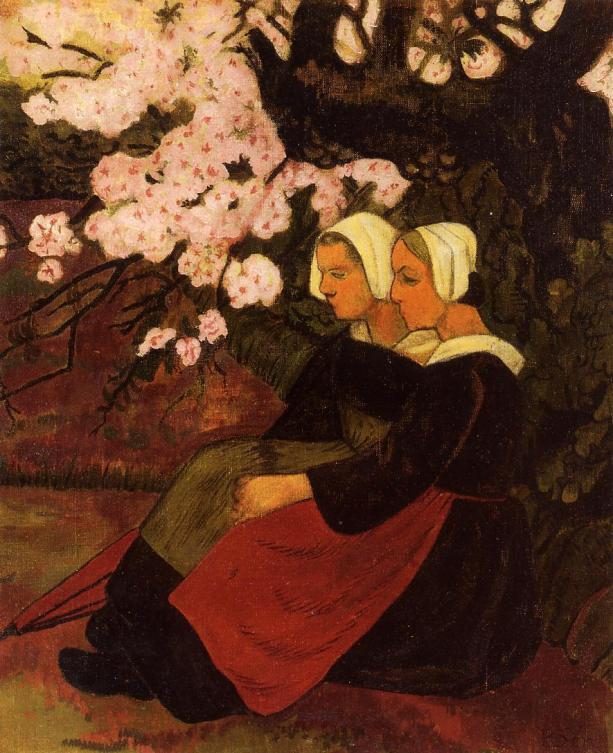 Apple tree by Serusier