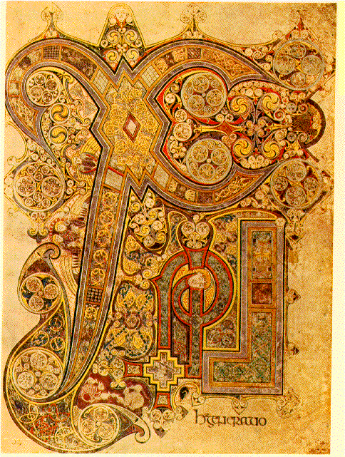 Chi Rho (Book of Kells)