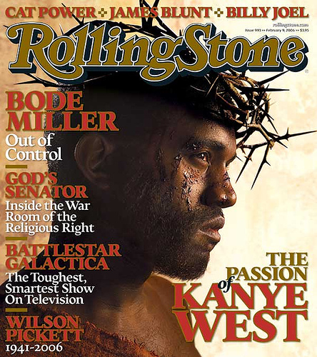 Kanye West on Rolling Stone