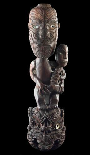 Maori Madonna and Child