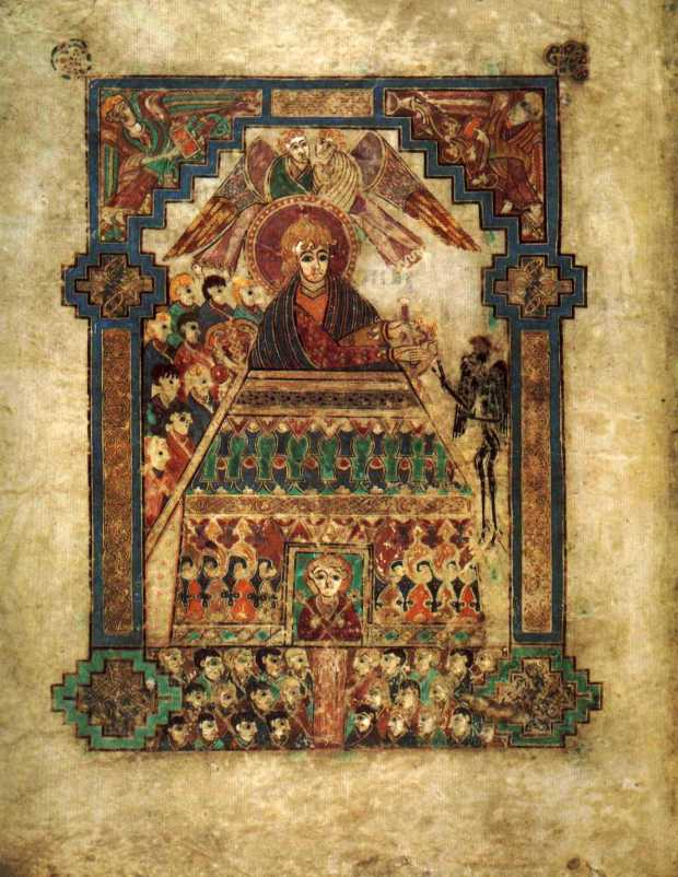Temptation of Christ (Book of Kells)