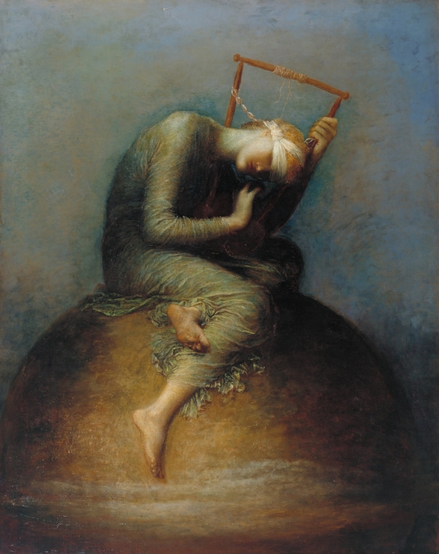 Hope painting by George Frederic Watts