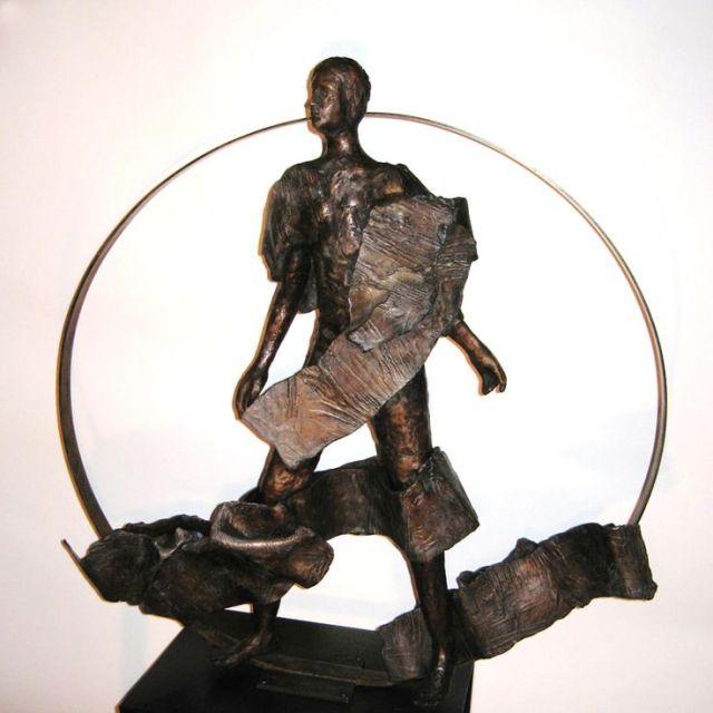 Resurrection sculpture