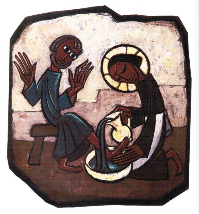 Boniface, Marie_Washing of the Disciples' Feet