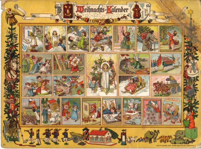 Christkind Advent calendar