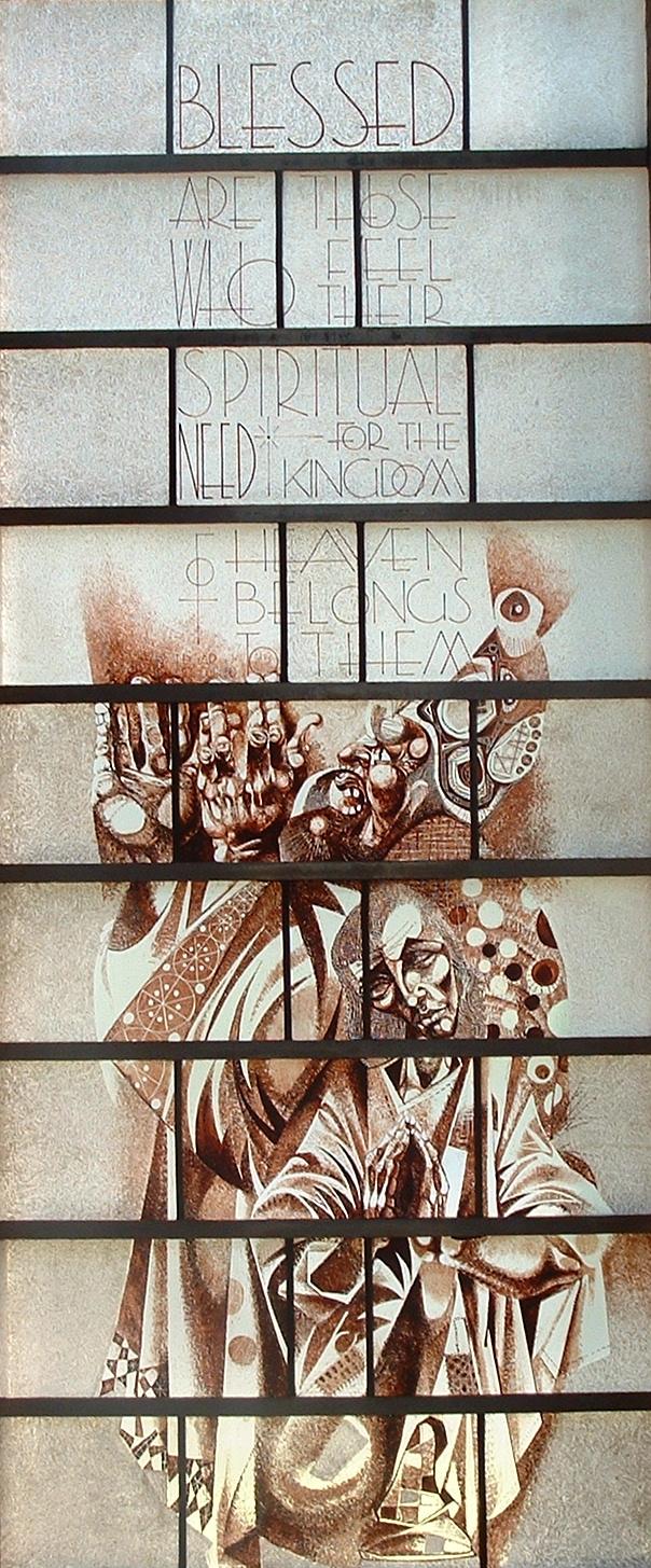 Beatitude window
