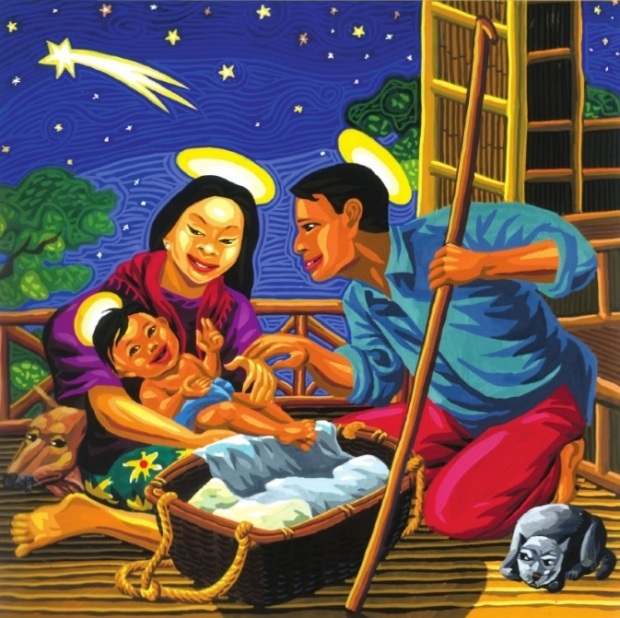 Nativity by Federico Dominguez