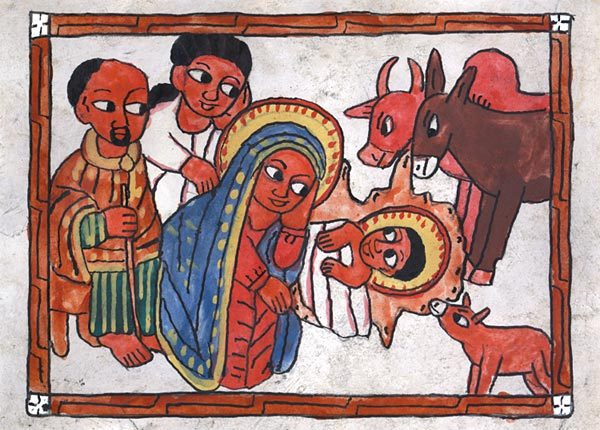 Ethiopian Nativity