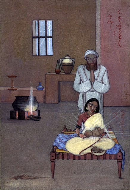 Nativity by Angelo da Fonseca
