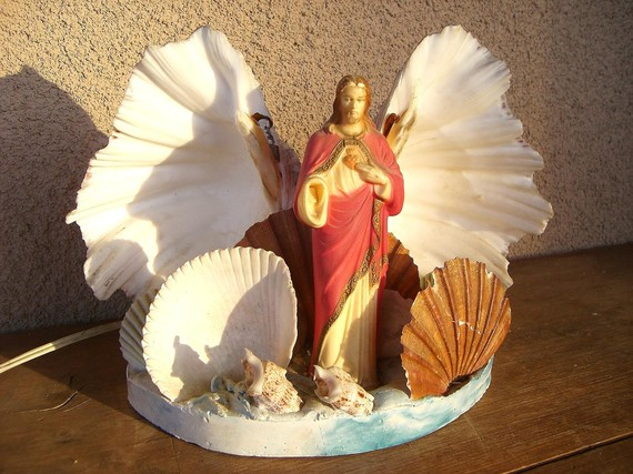 Jesus in a seashell (Part of Your World)