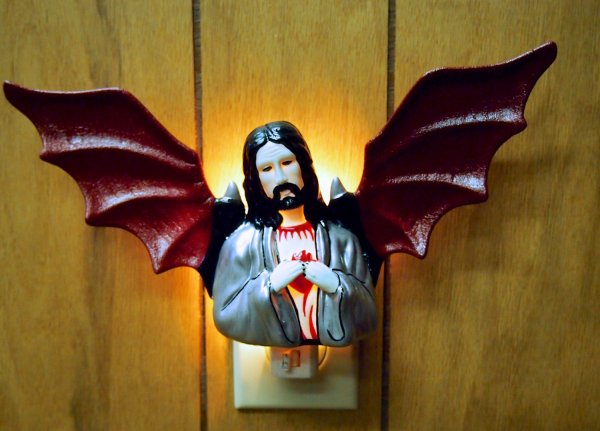 Jesus night-light (with wings)
