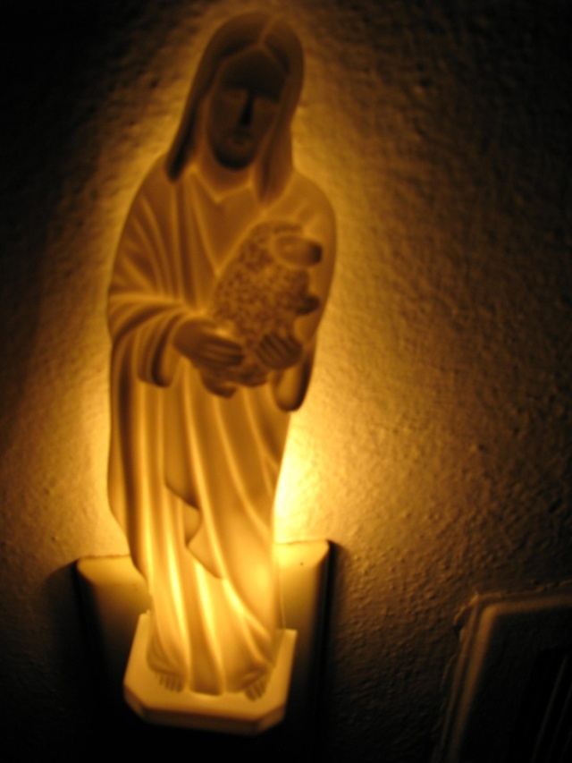 Jesus night-light (Good Shepherd)