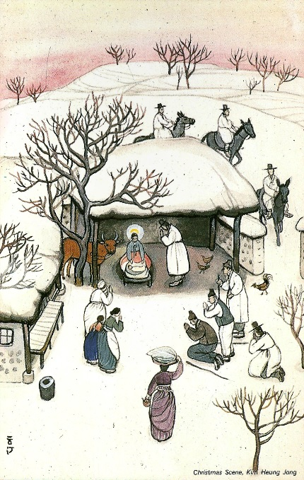 Korean Nativity