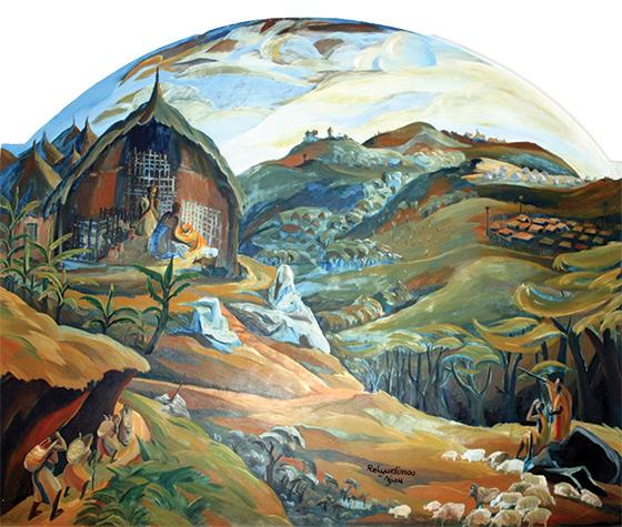 Nativity by Elimo Njau