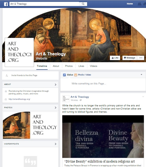 Art & Theology Facebook page