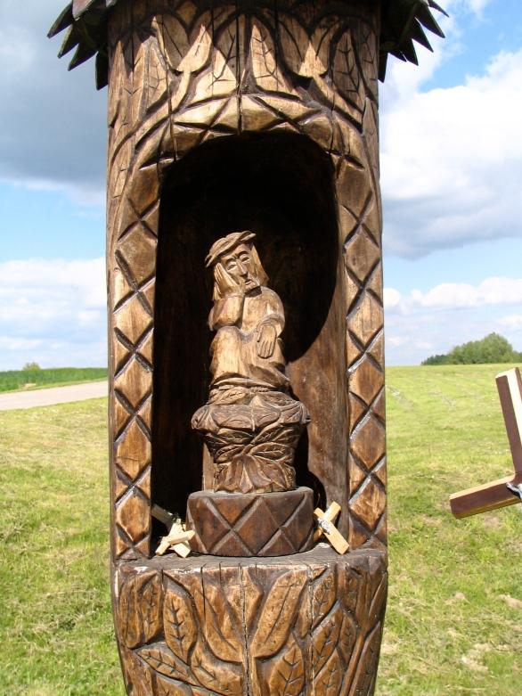 Pensive Christ shrine